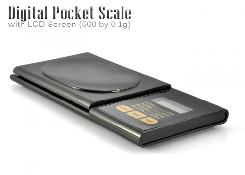 Digital Pocket Scale Could Help With Your Resolutions