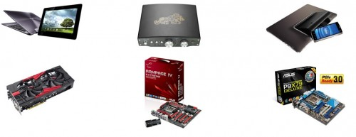 ASUS Receives Six Innovation Awards at CES 2012