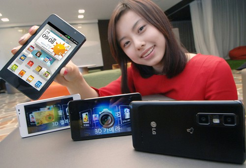 LG Announces Optimus 3D Cube Smartphone