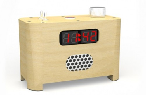 Concept Alarm Clock Makes Sure You Get Out of Bed