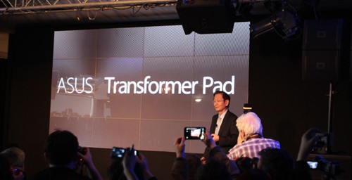 ASUS Announces New Tablets, Renamed Transformer Pads