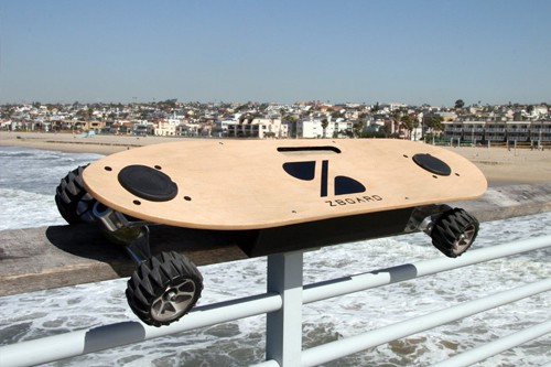 Skateboarding Just Got Easier with the ZBoard