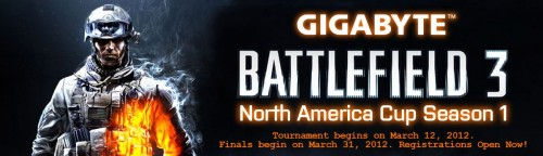 Battlefield 3 North American Cup Tournament by GIGABYTE
