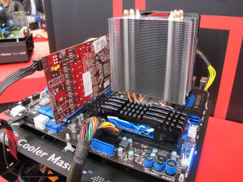 G.Skill Shows Off 32GB Quad-Channeled 2133 MHz RAM at CeBIT 2012