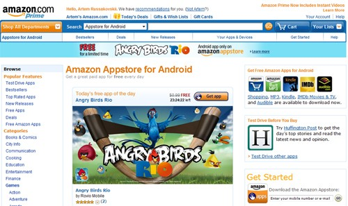 Amazon Appstore Celebrates Anniversay with Discounted Apps