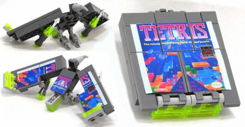 The Game Boy Made of LEGO That Turns Into Transformers Soundwave