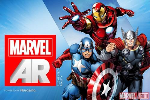 Marvel Introduces Augmented Reality Comic Books, 'Infinite' Digital Comics
