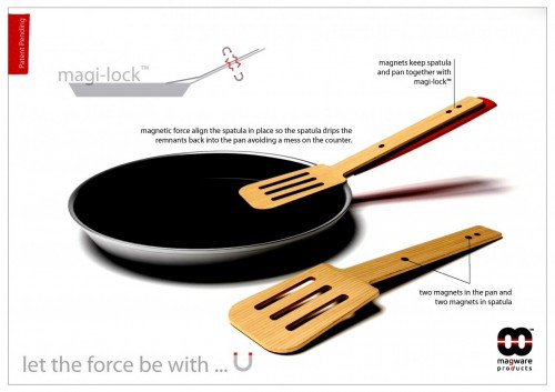 MEGATech Reviews: MagnetWare Products Magnetic Spoon Rest