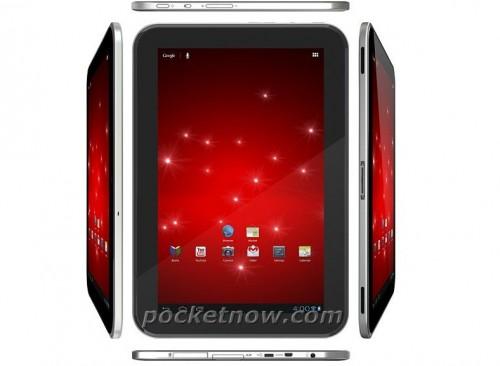 Leaked Render of Google Nexus Tablet by Asus or Toshiba?