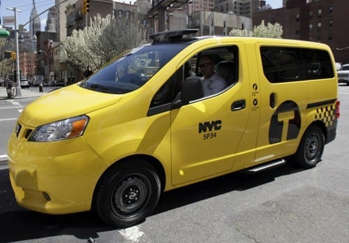 Nissan NV200 to be Next NYC Taxi Cab