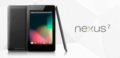 Google Introduces the Nexus 7