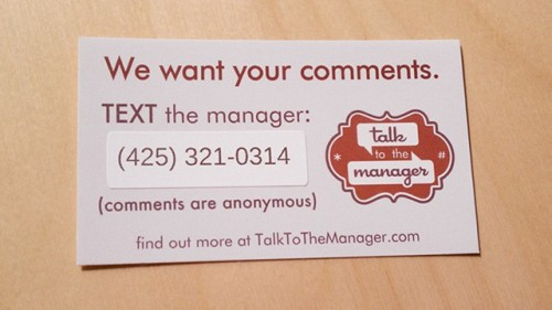 TalkToTheManager Caters to the Nonconfrontational