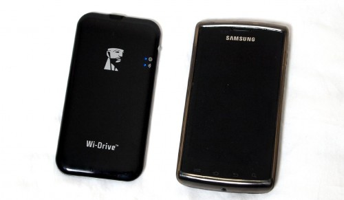 MEGATech Reviews - Kingston Wi-Drive 64GB Wireless Storage for Android, iPhone and iPad