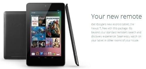 Google Fiber Package Includes Free Nexus 7