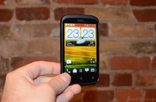 HTC Desire C Affordable Android 4.0 Smartphone