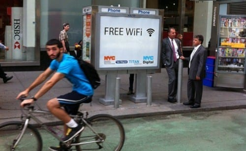 Old NYC Pay Phones Converted to Free WiFi Hotspots