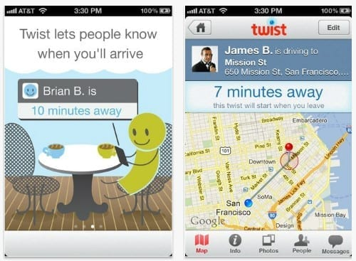 iOS App Twists Helps Coordinate Hang Outs