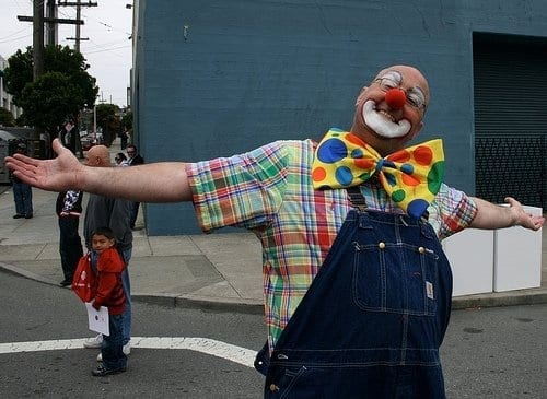 Steve Jobs's Stolen iPad Winds up in Street Clown's Show