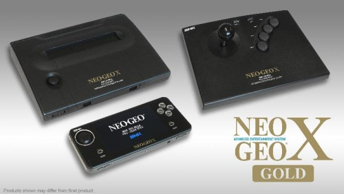 NEOGEO X Gold Entertainment System Coming in December