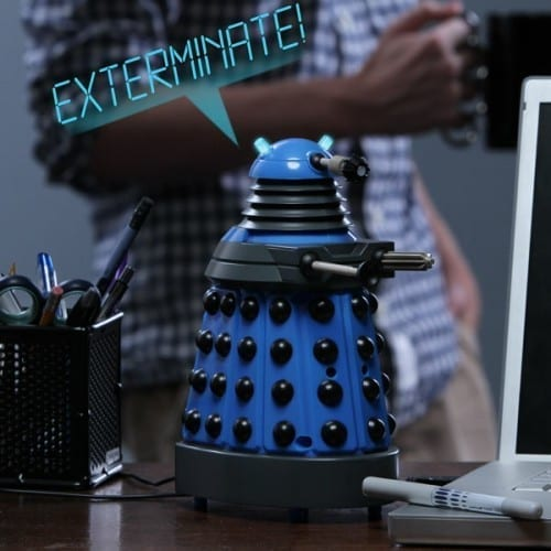 Exterminate Nosy Colleagues With a Dalek Desk Defender