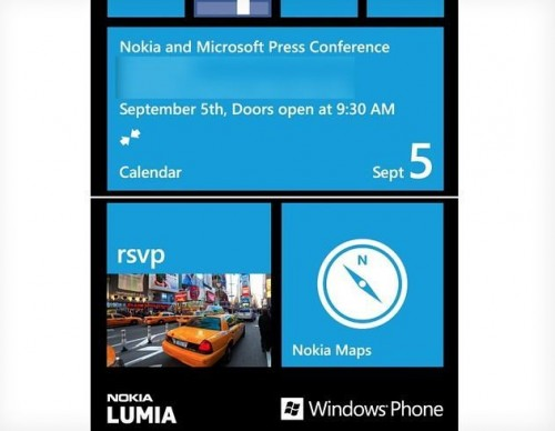 Nokia Windows Phone 8 Reveal on September 5