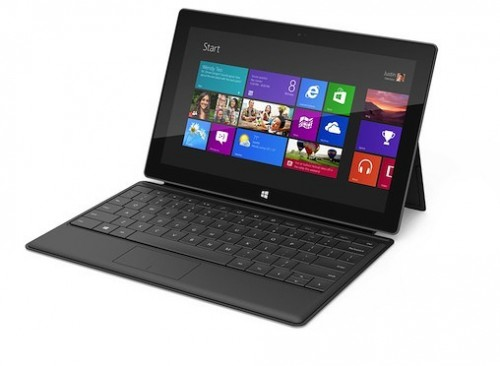 Microsoft Surface Tablet (Windows RT) Launching at $199 in October