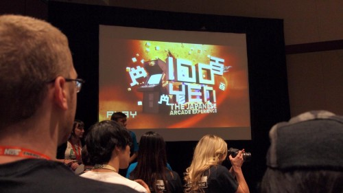 World Premiere of 100 Yen: The Japanese Arcade Experience at PAX Prime 2012