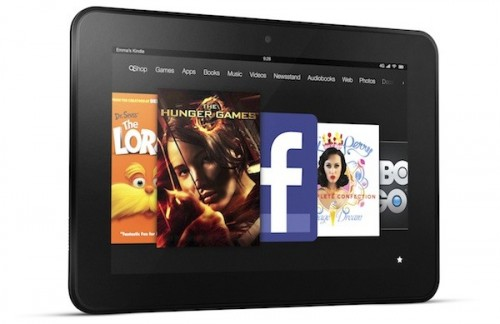 Kindle Fire HD Contains Unavoidable Ads