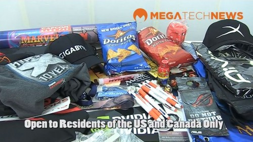 CLOSED - The Great PAX Prime 2012 Swag Give Away Presented by MEGATechNews and Futurelooks (Video)