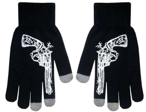 Touch Screen Knit Gloves Keep Your Fingers From Getting Frosty