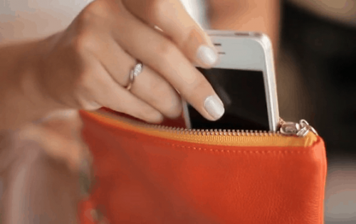 Everpurse Lets You Carry Your Phone and Charge It, Too