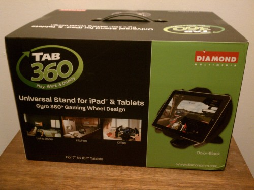 MEGATech Reviews: TAB360 Universal Racing Gaming Wheel Stand for Smartphones and Tablets