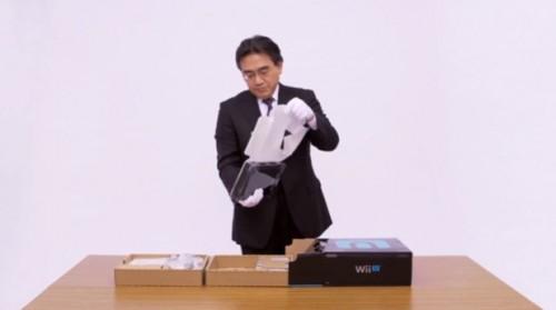 Official Nintendo Wii U Unboxing Video with President Satoru Iwata