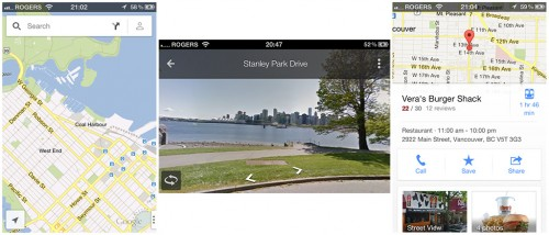 Google Maps for iOS Available in Apple App Store