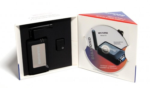MEGATech Reviews - Diamond Multimedia WPCTVPRO VStream Wireless USB to TV
