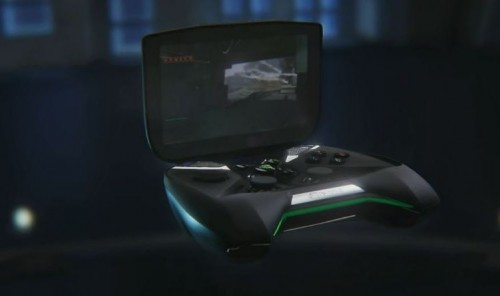 CES 2013 - NVIDIA Project SHIELD Gaming Handheld with Tegra 4, Steam PC Game Support