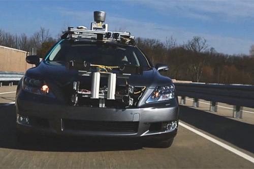 CES 2013 - Lexus Unveils Its Advanced Active Safety Research Vehicle