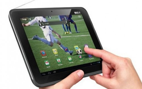 RCA DMT580D Android Tablet with Dual TV Tuners