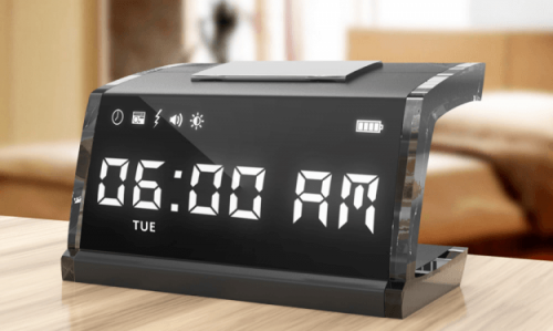 SingNshock Alarm Clock May Finally Get You Up On Time