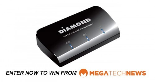 CLOSED! MEGATech Weekly Giveaway 3 of 3: Win a Diamond Multimedia DV100 USB 3.0 to DVI/HDMI Adapter