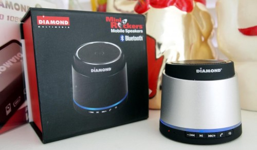 MEGATech Reviews - Diamond Multimedia Mini Rockers Mobile Bluetooth Speakers