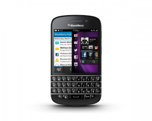 BlackBerry Q10 Getting May-June Release in America