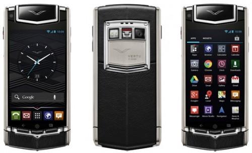 Vertu Ti Premium Android 4.0 Smartphone for $10,000