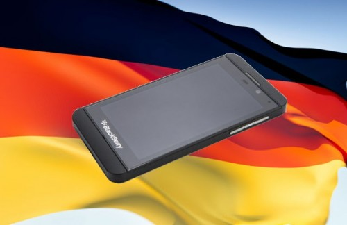 German Government Adopts Blackberry Z10s