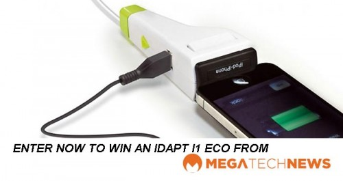CLOSED! MEGATech Weekly Giveaway 1 of 3: Win an IDAPT i1 Eco Universal Charger