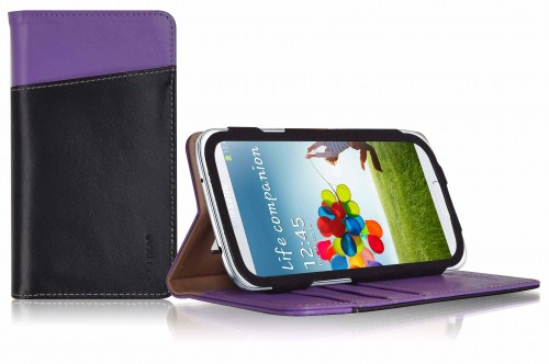 LUXA2 - Chief Samsung S4 Leather Stand Case