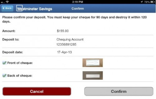 Need to Deposit a Cheque? There's an App for That!