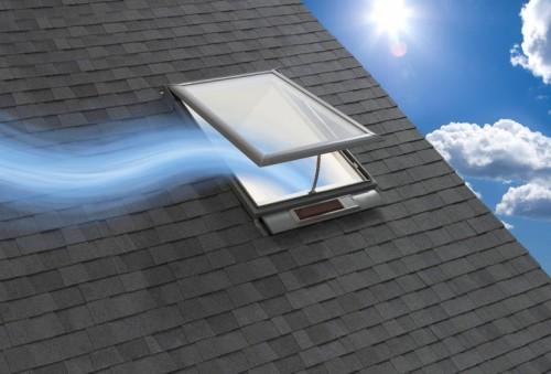 Fresh Air Skylight is Solar Powered Brilliance