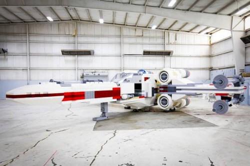 Life-Sized Lego X-Wing Replica Breaks World Record