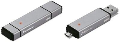 Force-Media-Outs-8GB-J-Force-JF-UFDP8S-Dual-Port-USB-Flash-Drive